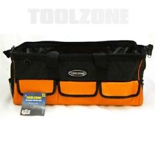 "18 Pocket 22"" Hard Base Nylon Tool Bag"