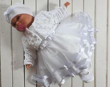Komplet  DO CHRZTU BAPTISM Christening set 62 68 74 80 86 CHRZEST sukienka taufe