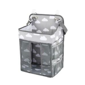 Multifunctional Hanging Diaper Caddy Organizer Diaper Stacker for Changing Table