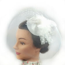 Fascinator - Flower Net Mesh Hair Clip (STS01001)
