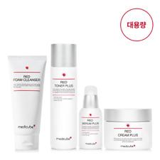 [Medicube] Red Toner, Serum, Cream, Foam Cleanser Plus (Red Line 4 Type Set)
