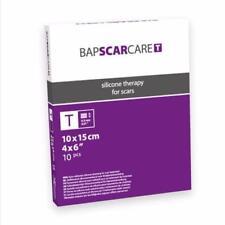 BABSCARCARE Scar treatment: Medical-Grade Silicone Sheets (x 10). !Made in EU!
