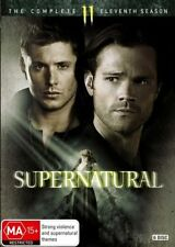 Supernatural : Season 11 DVD, 2016, 6-Disc Set R4