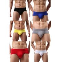 MCT Nature Push-Up HIPSTER Pants Briefs SHORT BULGE POUCH 6 FARBEN in M L XL 2XL