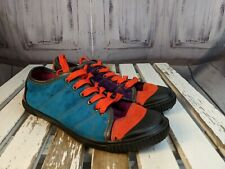 Womens shoes sneakers casual rouge helium 8.5 colorful block color neon