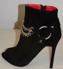 Charles Jourdan Paris  Cary  Ankle Boots   Color: Black  Size: US/6