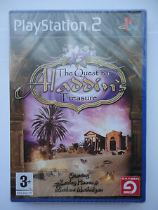Quest for Aladdin Treasure Game Sony PS2 Playstation 2 consoles Factory SEALED
