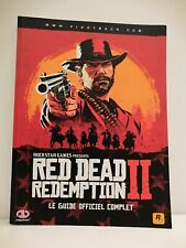 Livre Guide Red Dead Redemption II 2 PlayStation Xbox Piggyback