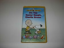 Peanuts Classic Its The Easter Beagle Charlie Brown Vhs Tape Clamshell 1974