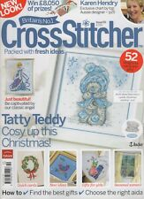 Cross Stitcher Magazine Issue 191 Joan Elliot's Christmas Angel, Tatty Teddy