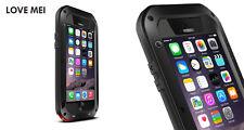 UK LoveMei Gorilla Glass Shockproof Metal Aluminum Case For iPhone 6s Samsung S6