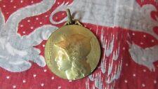 ancienne medaille bronze gloria victrix quille aviron sport
