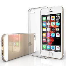 YOUSAVE Accessories Ultra Fin Clair Silicone Gel téléphone Housse Pour iPhone SE