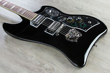 Guild S-200 T-Bird Solidbody Electric Guitar Rosewood Fingerboard Black +Gig Bag