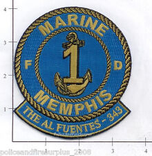 Tennessee - Memphis Marine 1 TN Fire Dept Patch  343  9-11  WTC