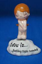 Love is.Feeling Light Headed Girl Bobble Figurine Kim Retired 17903