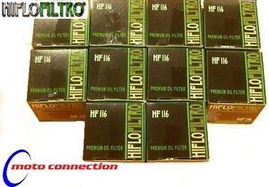 HONDA CRF250R CRF450R 2005 - 2021    HI FLO OIL FILTERS  HF116  (PACK OF 10)