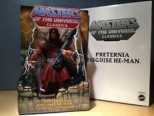 *NEW* MOTUC Masters of the Universe Classics Preternia Disguise He-Man - Sealed