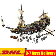 Pirates of The Caribbean Silent Mary 71042 (2344Pcs) Building Blocks Ship By DHL