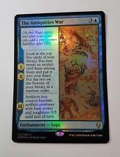 The Antiquities War - Pre-release FOIL - Dominaria (Magic/mtg) Rare