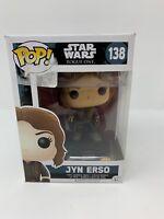 Funko Pop! Star Wars: Rogue One Jyn Erso #138 NIB