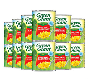 Green Giant Corn Niblets - 340Gm - Sweetcorn Tinned Canned Pack of 12