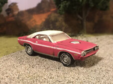 1970 Dodge Challenger Rusty Weathered Barn Find Custom 1/64 Diecast Car Rust