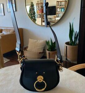 Chloe Tess Bag— Small, Black