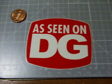 DG ORIGINAL Skateboard/ laptop  Sticker/ Decal Bumper Stickers NEW