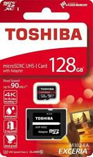 Toshiba Micro SDXC 128GB Speicherkarte + SD Adapter 4K Full HD Video & Android