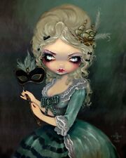 FAIRY ART PRINT Marie Masquerade by Jasmine Becket-Griffith 20x16 Gothic Poster