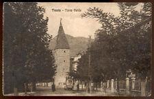 cartolina TRENTO torre verde
