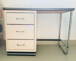 Baisch Schreibtisch Nostalgie Praxismöbel Zahnarzt Möbel aus den 60er Jahren