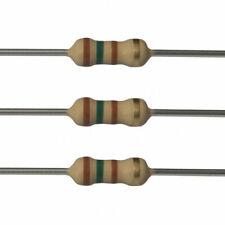 5 x 150 Ohm Carbon Film Resistors - 1/2 Watt - 5% - 150R