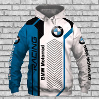 BMW MOTORRAD Racing-Top Gift-Top Men's Hoodie 3D-SIZE S TO 5XL