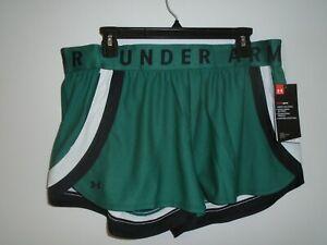 Under Armour Women's Play Up Shorts 3.0, Sz: XL. # 1351978 386