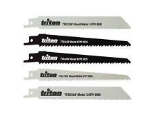 Triton 954242 Sierra De Sable Juego De Cuchillas 5pzas 150mm