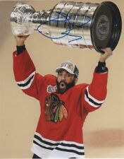 Chicago Black Hawks Johnny Oduya Stanley Cup Autographed Signed 8x10 Photo COA