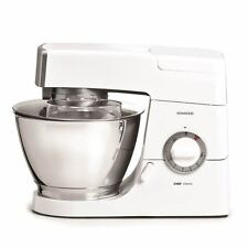 Kenwood Chef KM337 800W Food Mixer - White, 4.6L