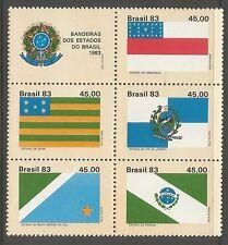 Postfrische Briefmarken aus Brasilien