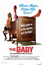 THE BABY Movie POSTER 11x17 Anjanette Comer Ruth Roman Marianna Hill Suzanne