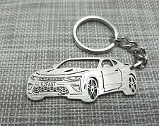 Chevrolet Camaro SS, keychain by your picture, custom gift, personalised keyring