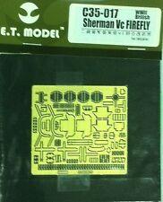 ET Model 1/35 #C35017 Sherman VC Firefly Detail Up Set for Asuka Model/Tasca