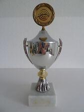 Pokal Wanderpokal Gewehr Schiessen Schützen Sport Farben Silber Gold Marmor
