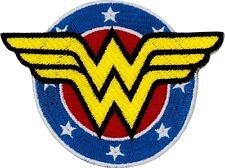 89097 Wonder Woman Shield Logo Superhero Diana DC Comic Book Sew Iron On Patch
