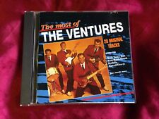 THE VENTURES - THE MOST OF THE VENTURES - CD Very Rare OOP EMI 4380162