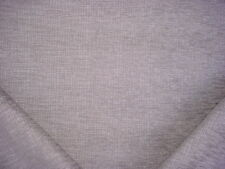 3Y KRAVET COUTURE 34803 SILVERY GREY CHENILLE STRAND WEAVE UPHOLSTERY FABRIC