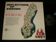 ERIC ÖST LP ‎– REFLECTIONS OF SWEDEN ON THE WINGS OF MUSIC Swedish folk