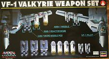 Hasegawa 1/72 Macross Vf-1 Valkyrie Weapon set Model Hobby Missile Pod Reactor