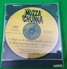 MUZZA CHUNKA Float UNRELEASE TRK PROMO CD Single 1993 Radio Copy